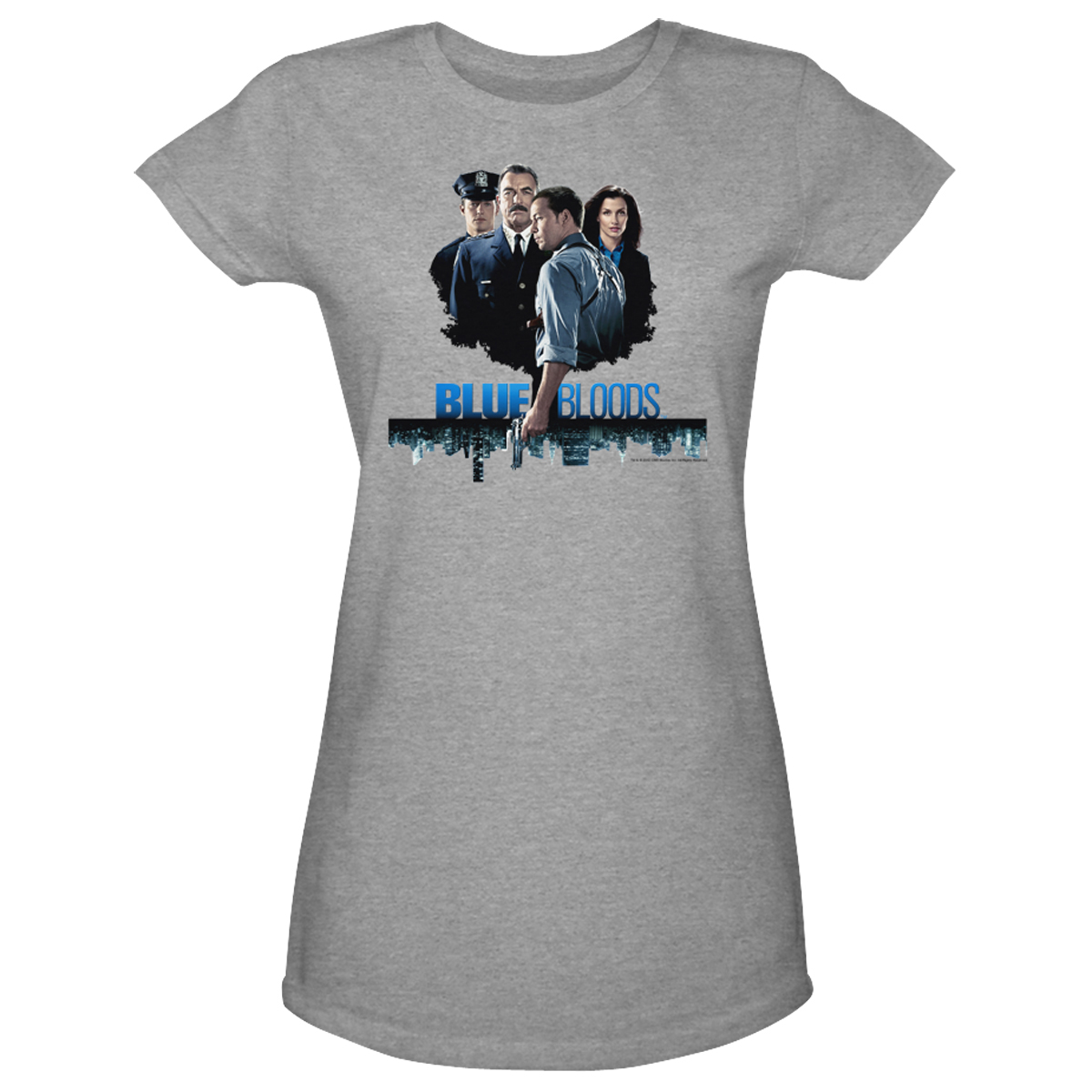 Blue Bloods Cast Women's Junior Fit T-Shirt