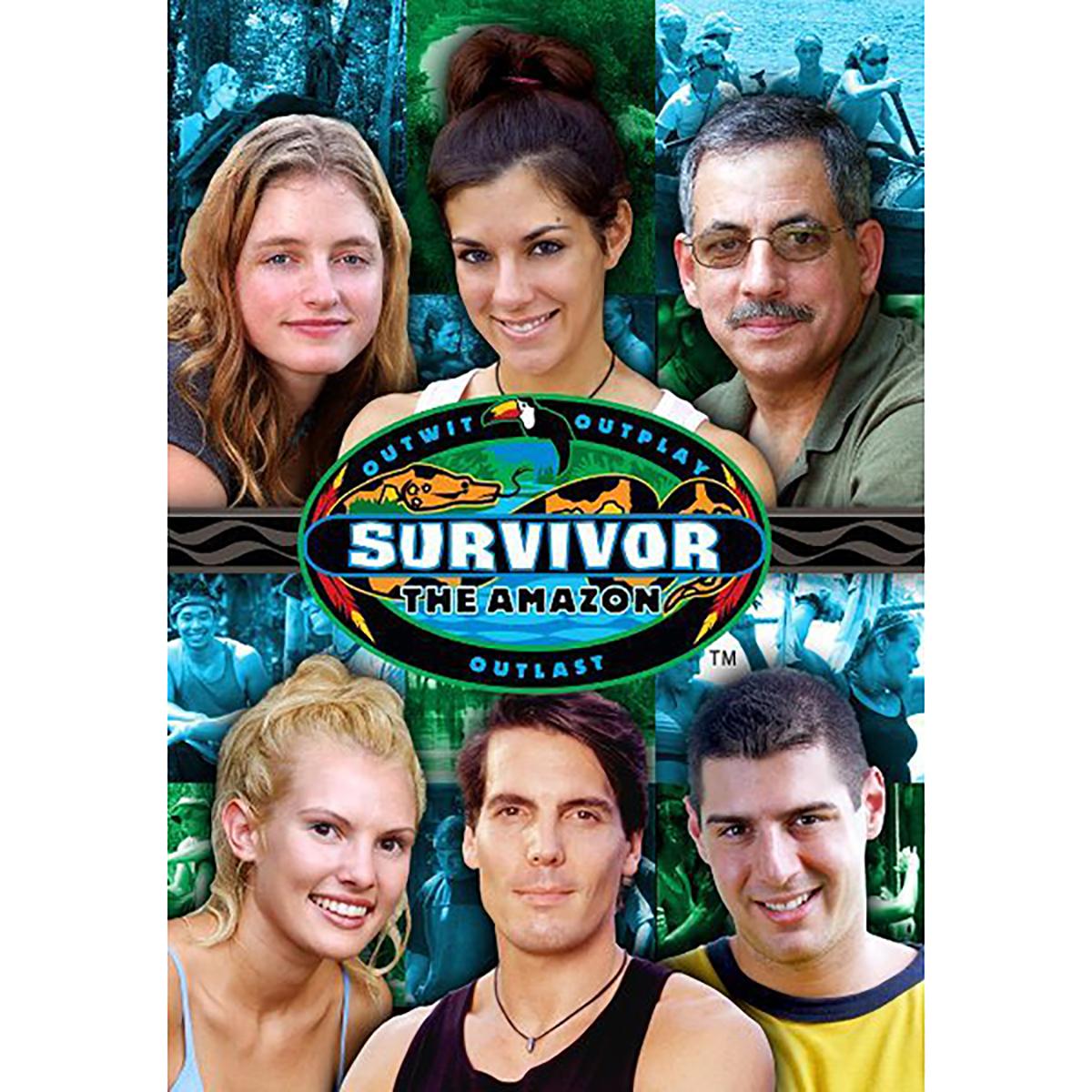 Survivor: Season 6 - The Amazon DVD