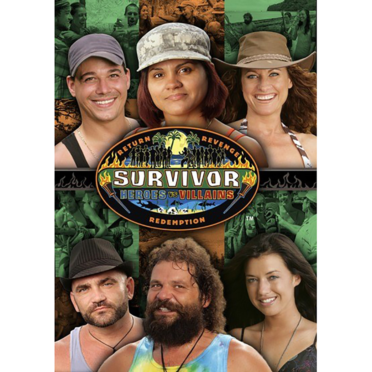 Survivor: Season 20 - Heroes vs. Villains DVD