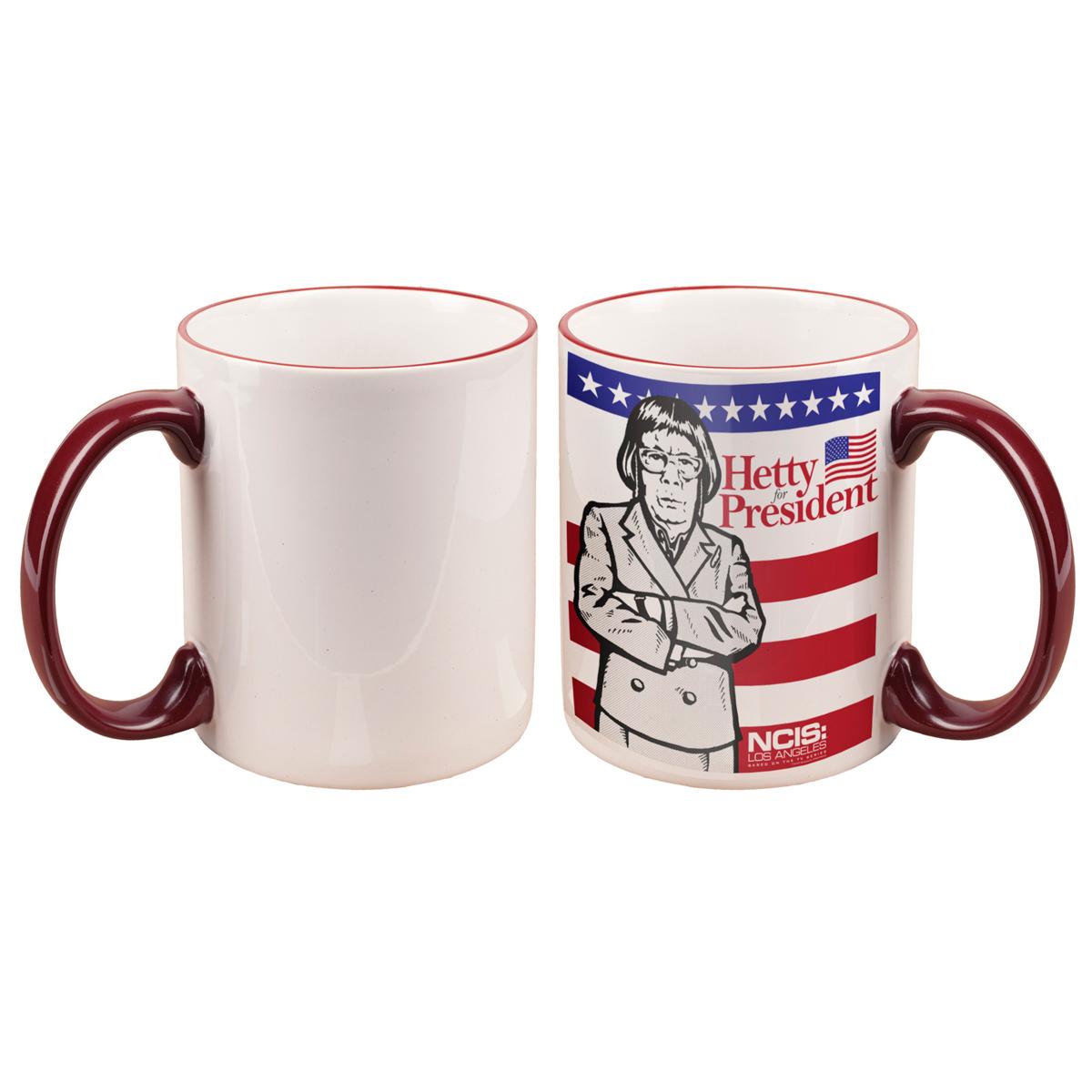 NCIS: Los Angeles Hetty For President Mug