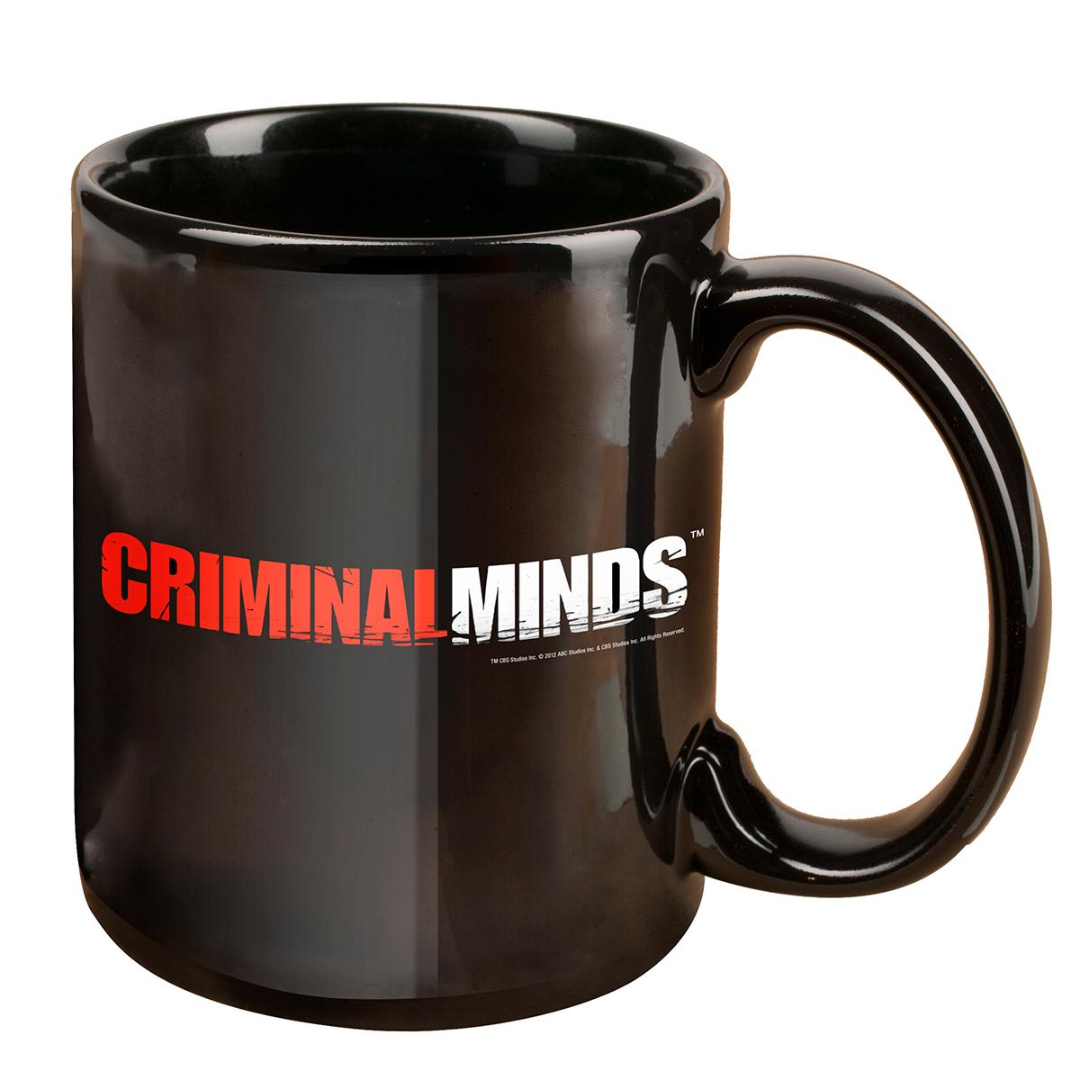Criminal Minds Logo Mug