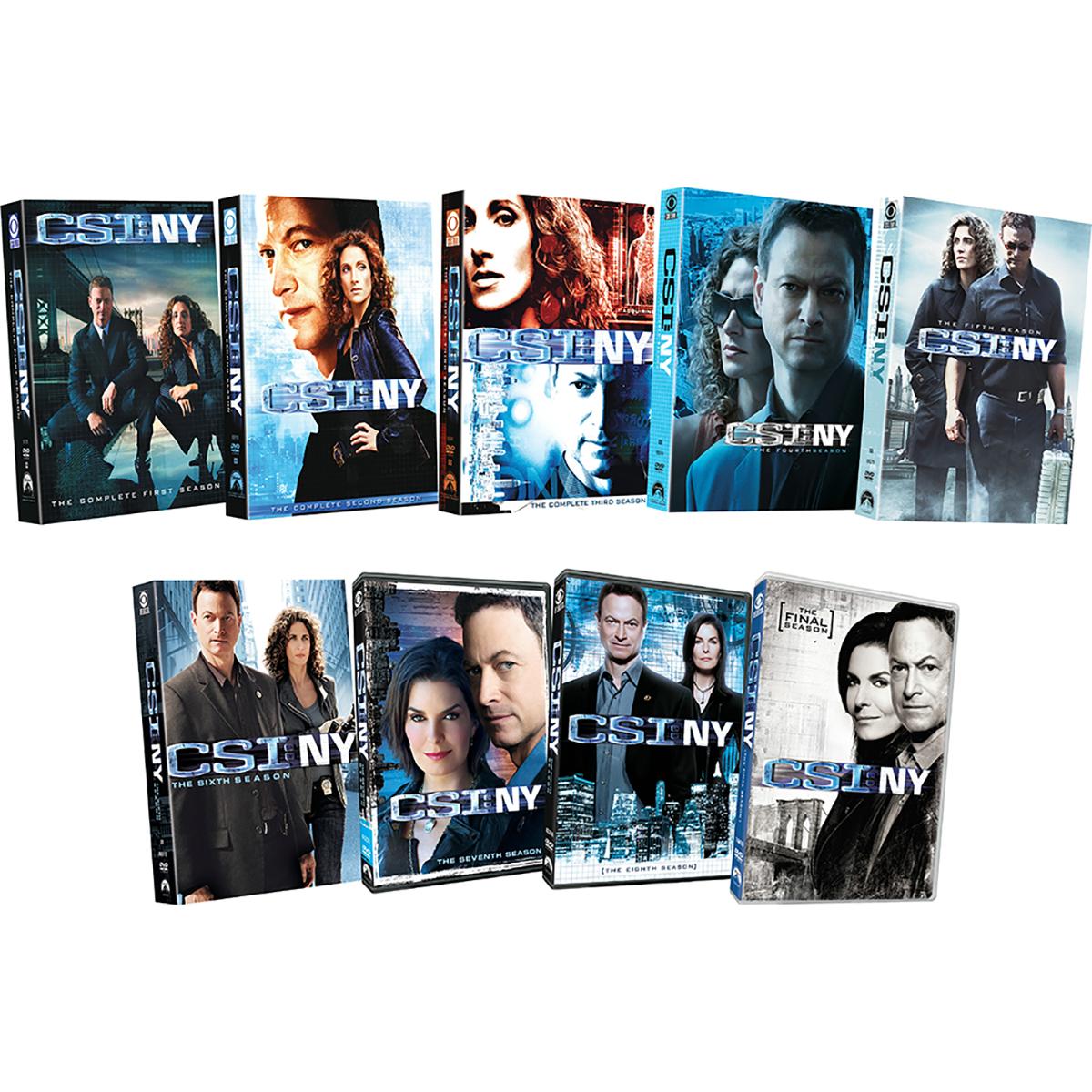 CSI: NY - Seasons 1 - 9 DVD