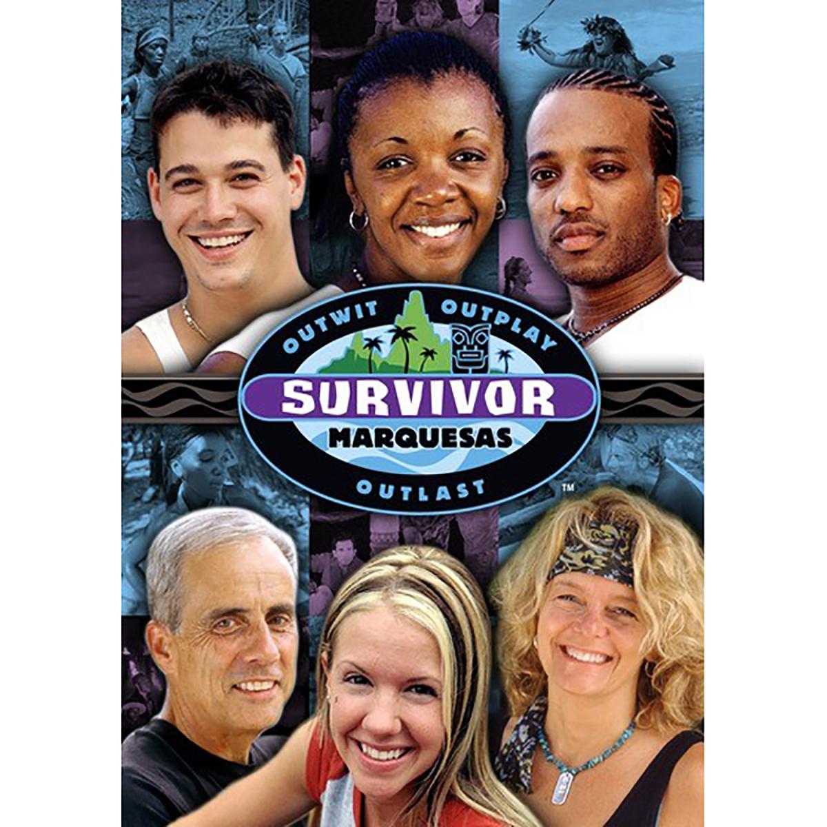 Survivor: Season 4 - Marquesas DVD