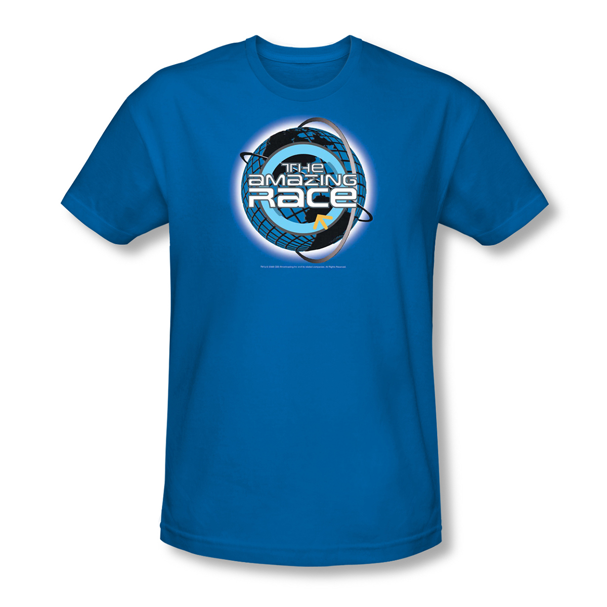 The Amazing Race 'Around the Globe' T-Shirt - Royal Blue