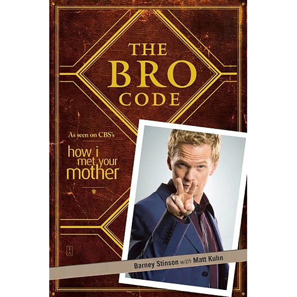 The Bro Code (Paperback) Book