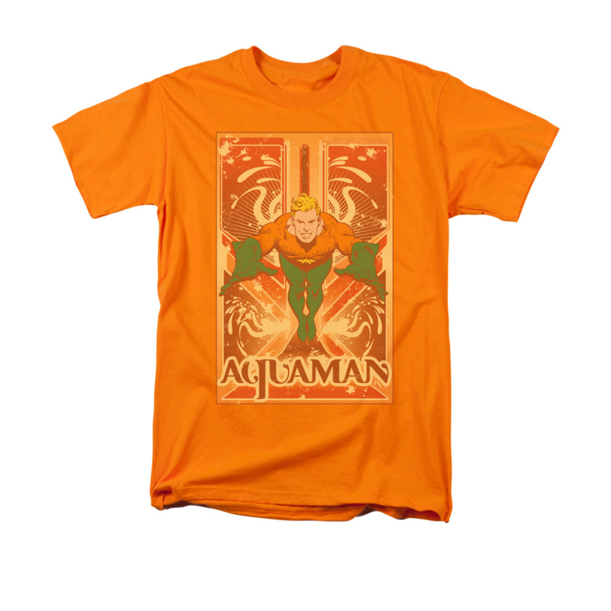 Sheldon's Orange Aquaman T-shirt