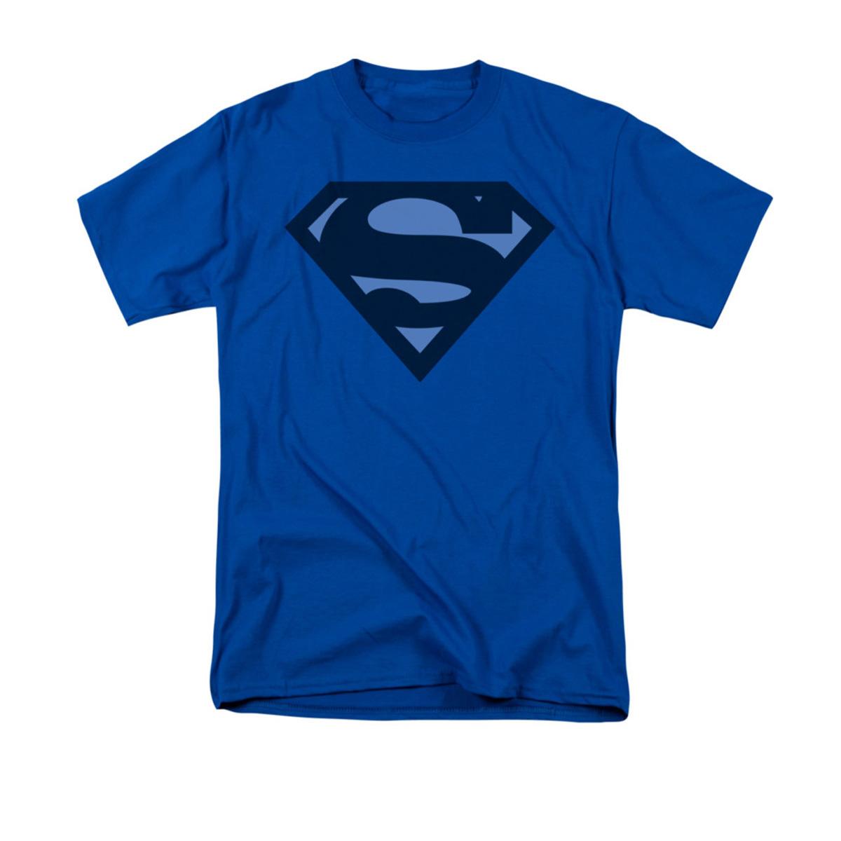 Sheldon's Blue Shield Superman T-shirt