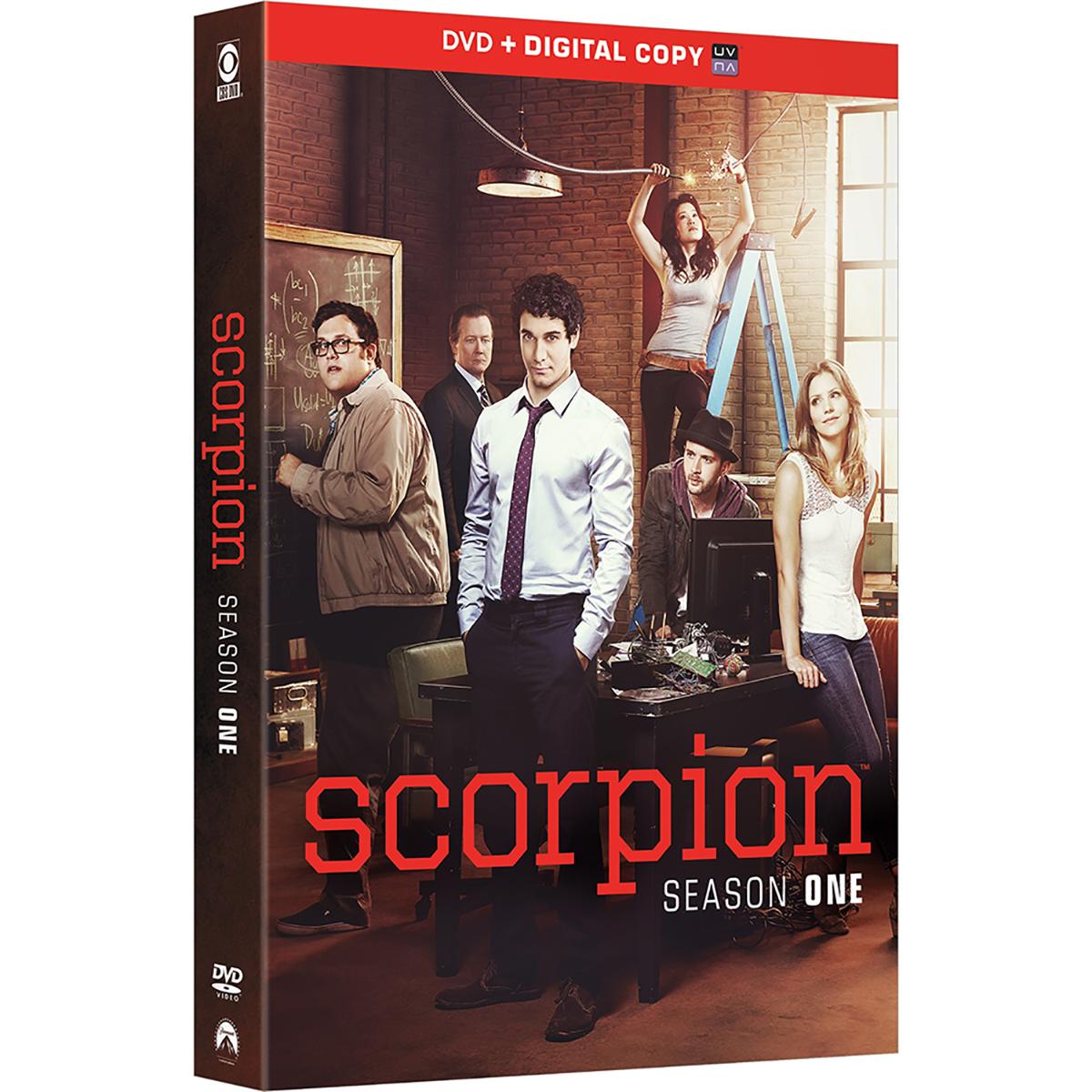 Scorpion: Season 1 (DVD + UltraViolet)