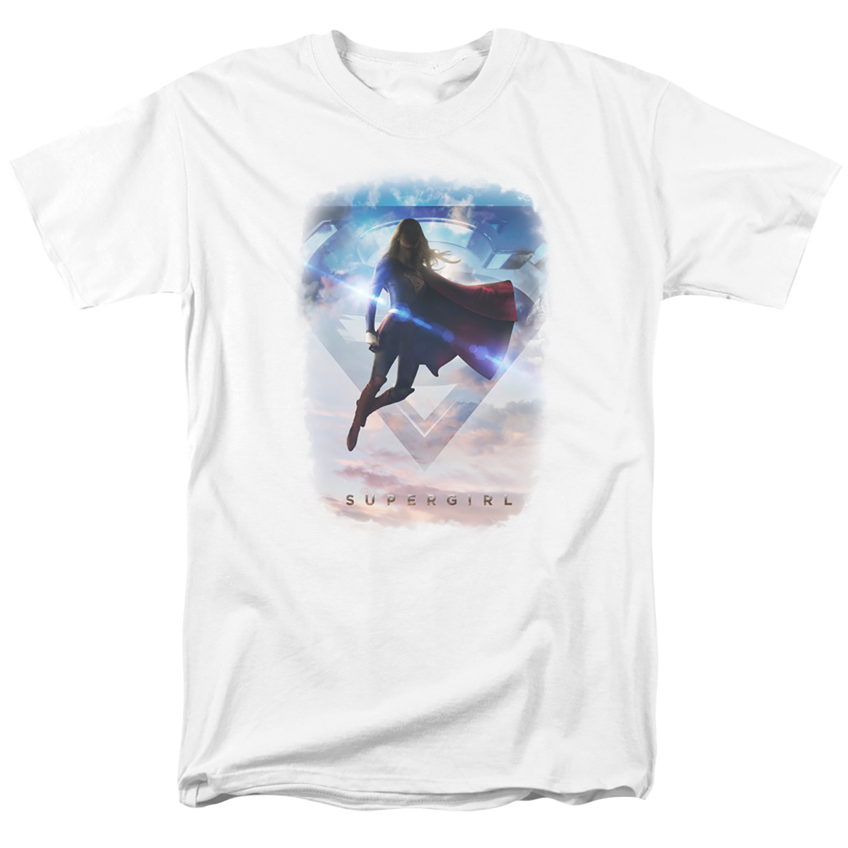 Supergirl Endless Sky Logo T-Shirt