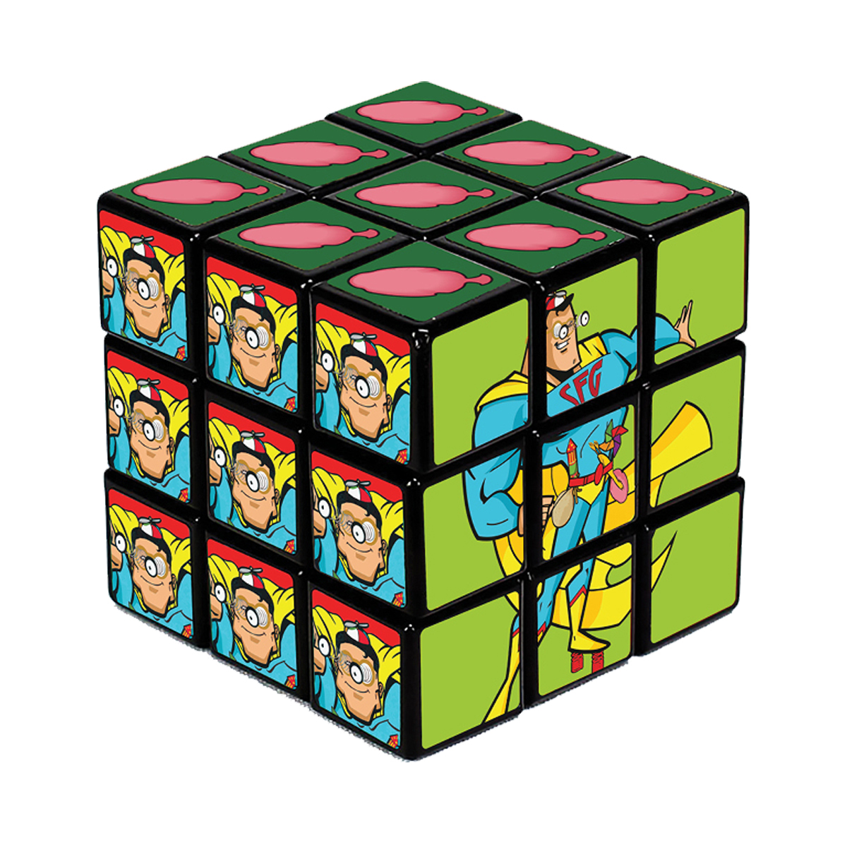 Scorpion Super Fun Guy Puzzle Cube