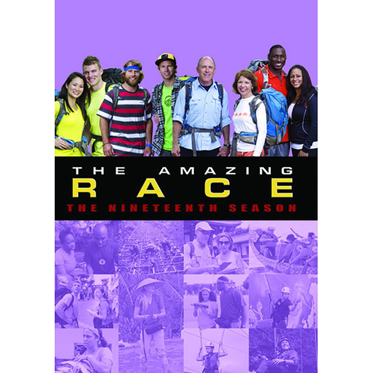 The Amazing Race: Season 19 DVD