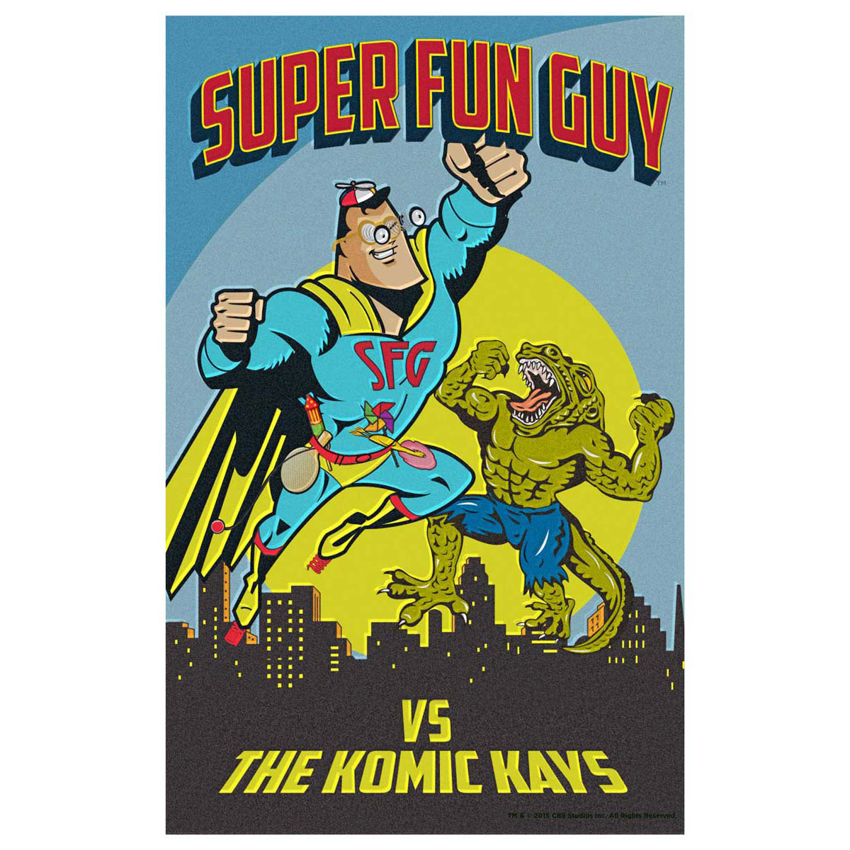 Scorpion SFG Komic Kays Poster [11x17]