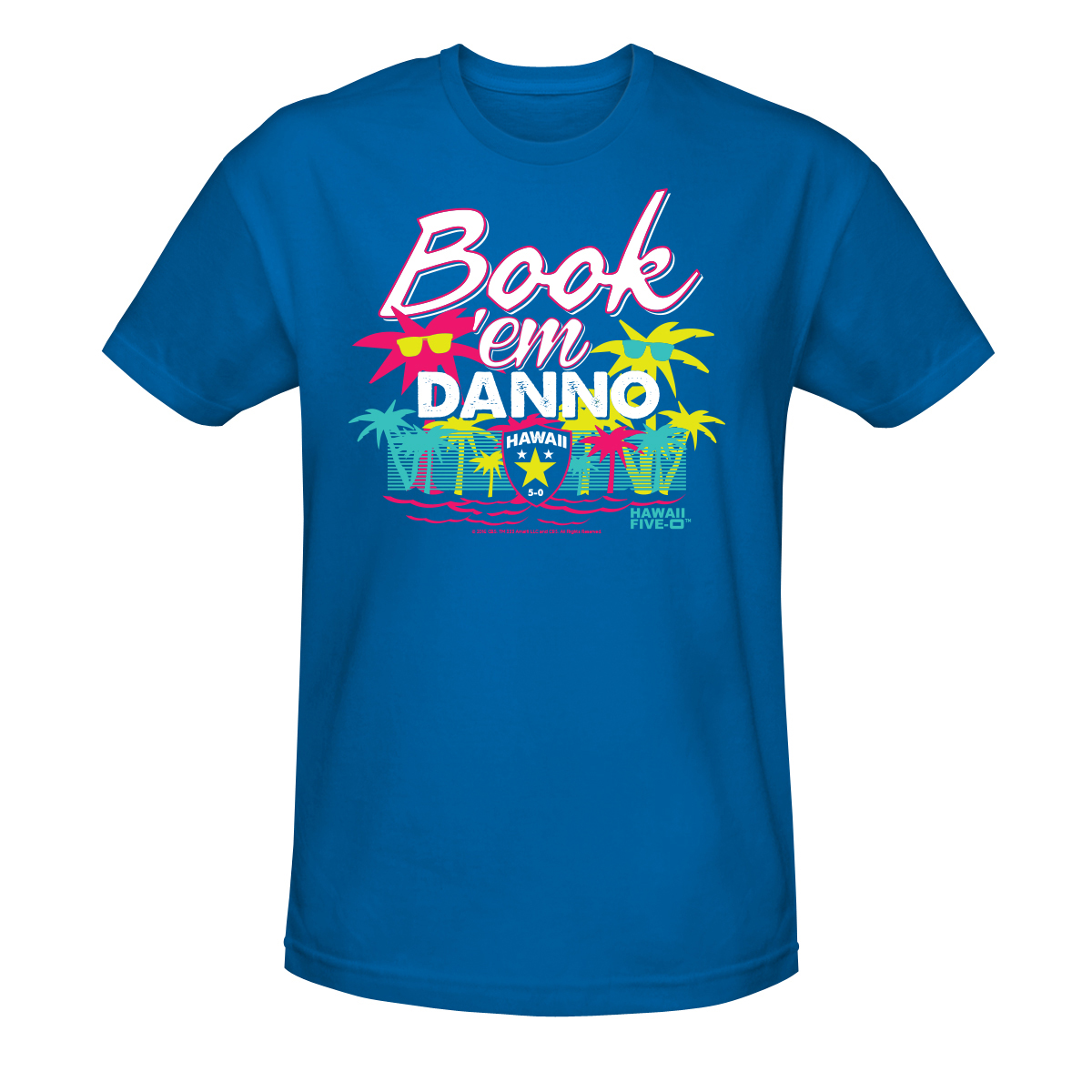 Hawaii Five-0 Book 'em Danno T-Shirt
