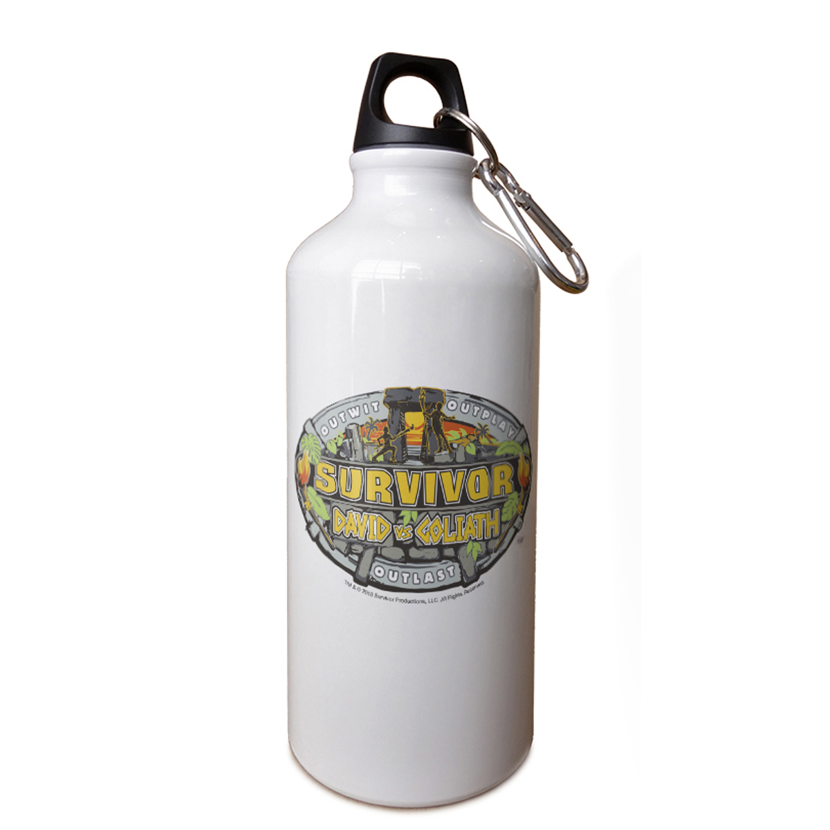 Survivor Season 37 Logo Aluminum Water Bottle