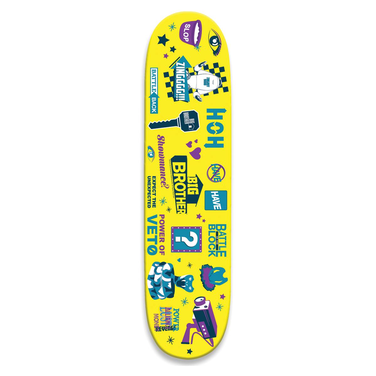 Big Brother Logo Skate Deck
