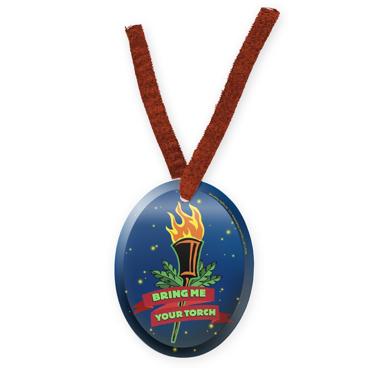 Survivor Torch Ornament