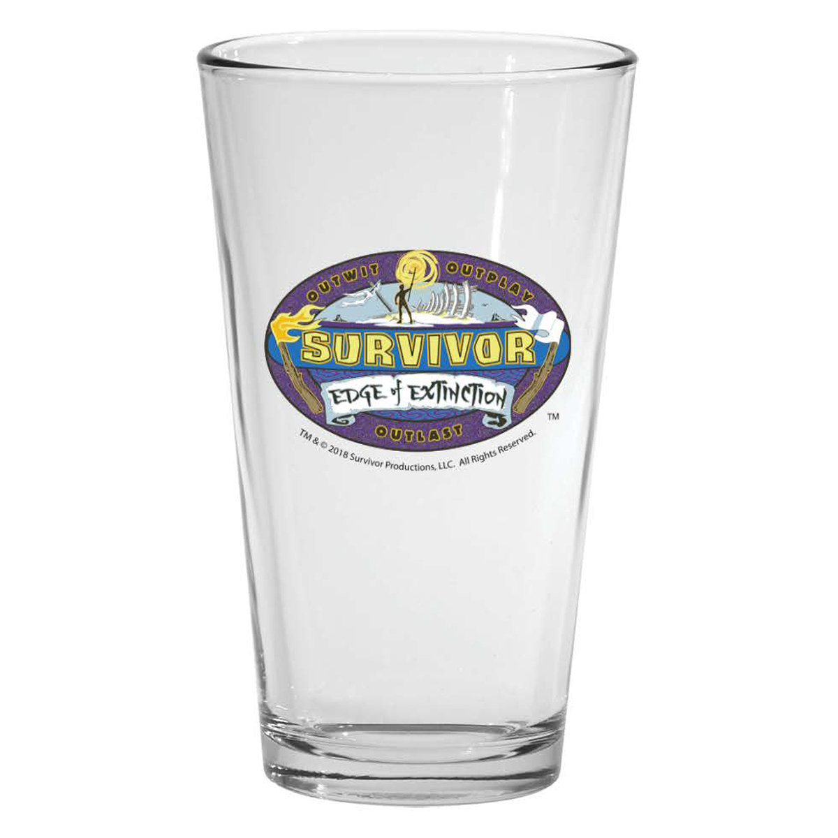 Survivor Season 38 Pint Glass