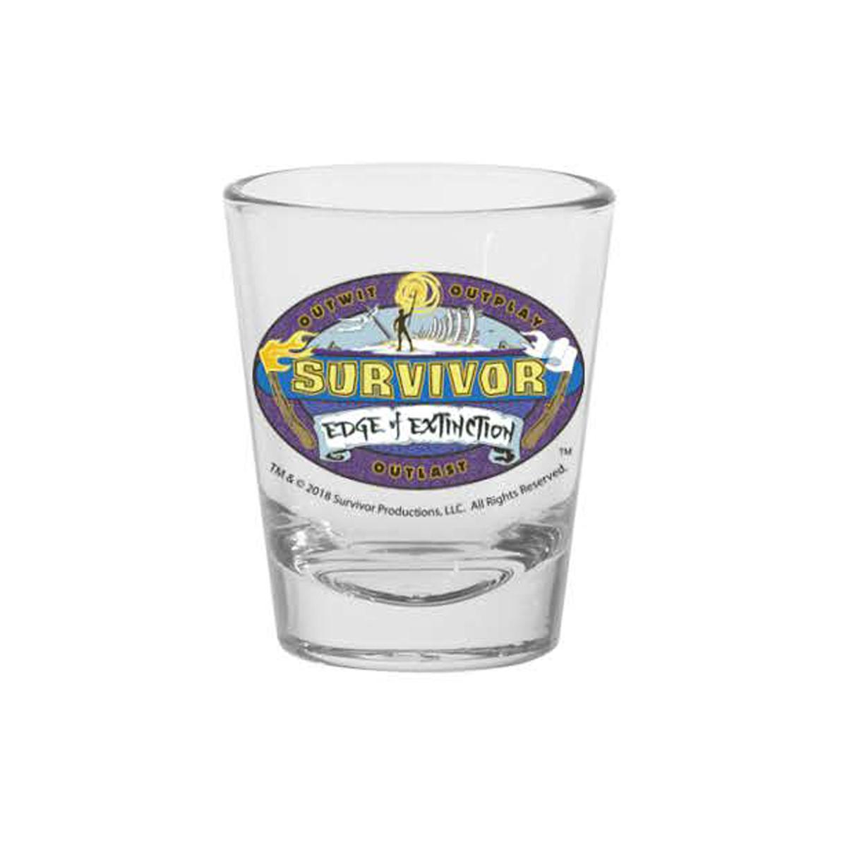 Survivor Season 38 Shot Glass