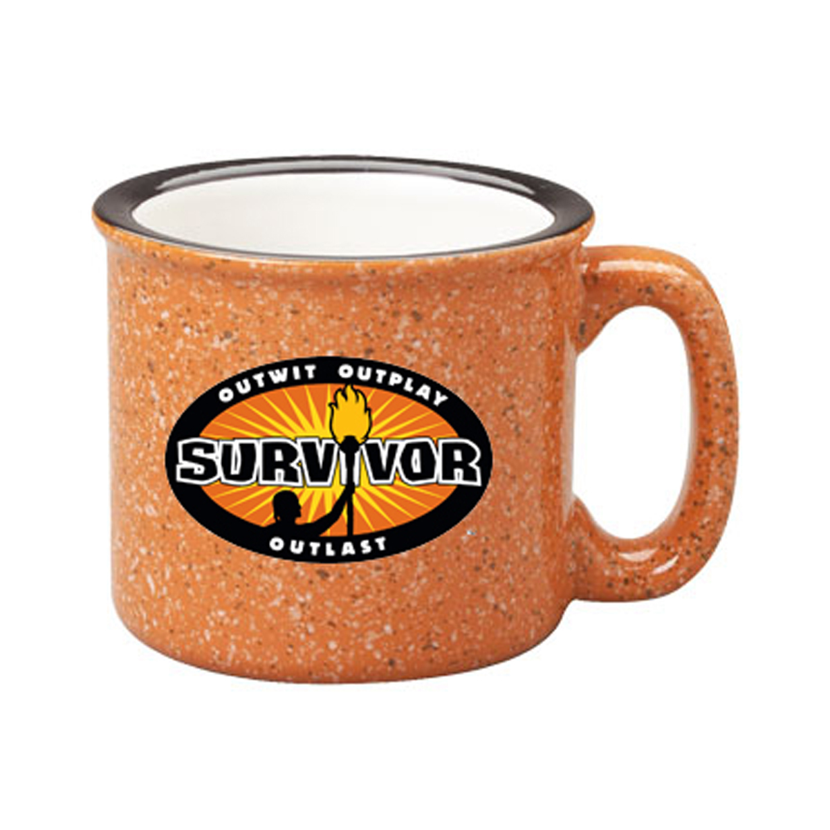 Survivor Outwit, Outplay, Outlast Campfire Mug