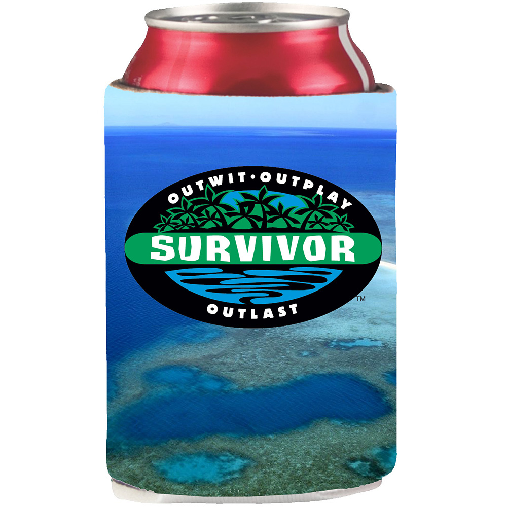 Survivor Outwit, Outplay, Outlast Can Cooler