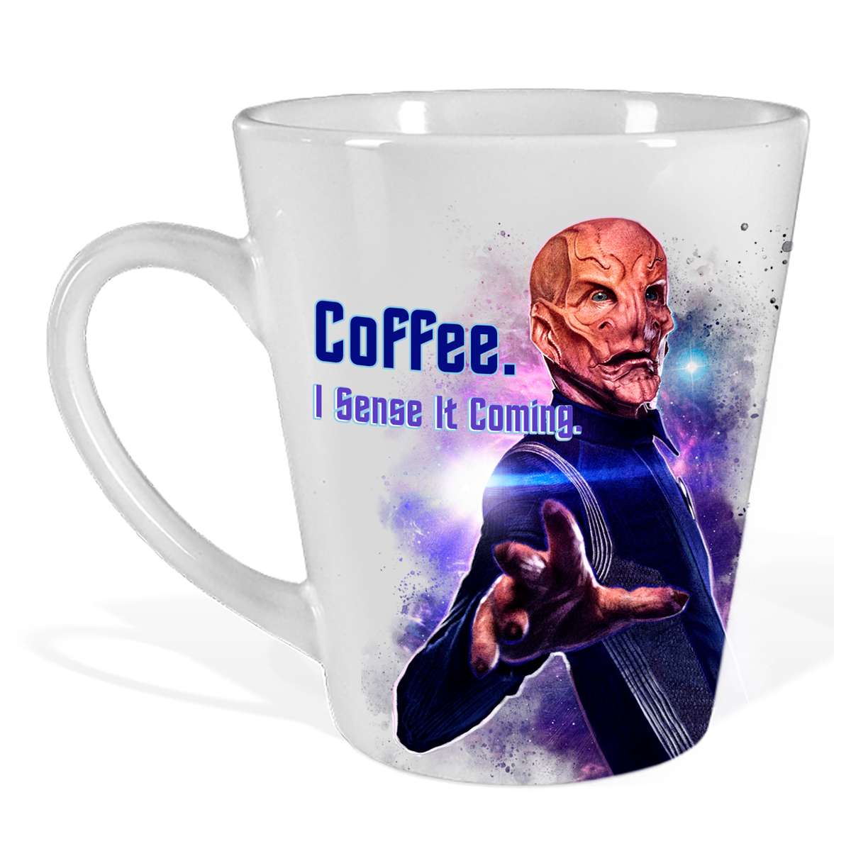 Star Trek Discovery I Sense It Coming Latte Mug