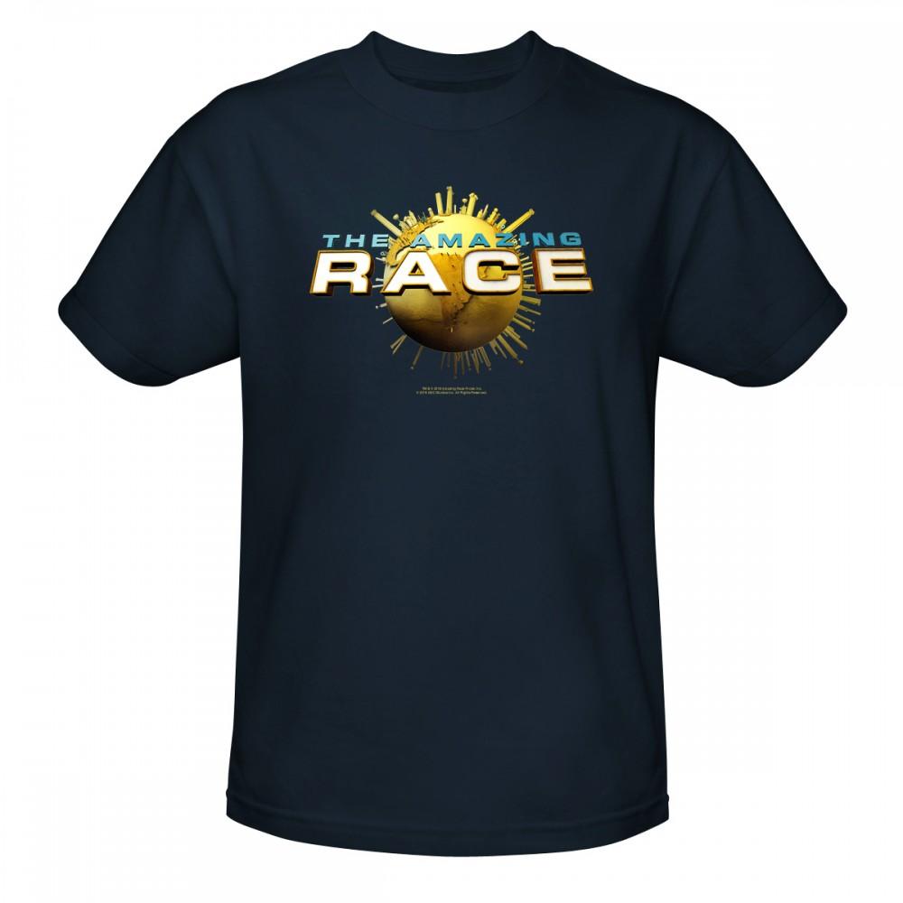 The Amazing Race Logo T-Shirt - Navy