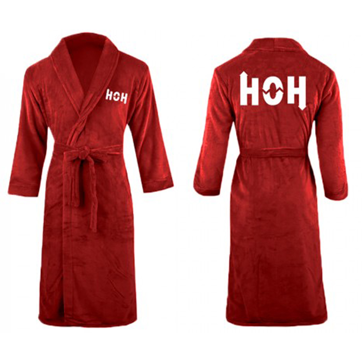 Big Brother HOH Luxury Robe (Red)