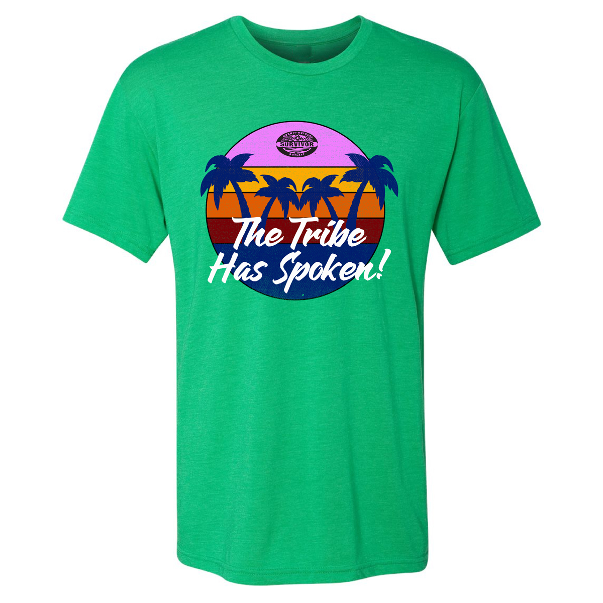 Survivor The Tribe Has Spoken Palm T-Shirt