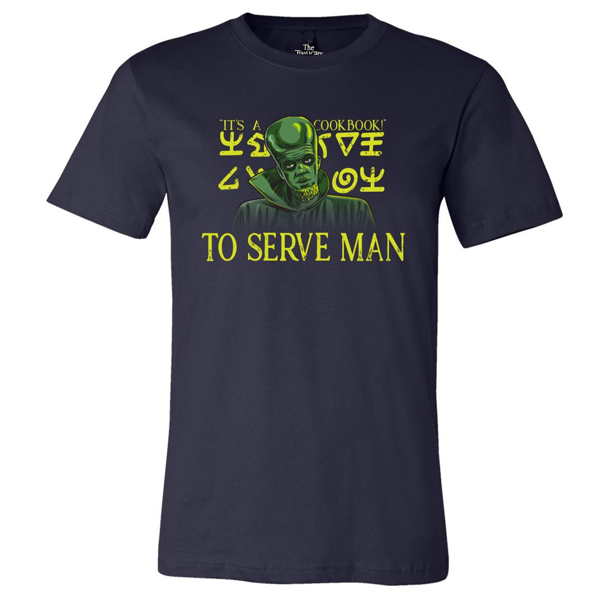 The Twilight Zone Serve Man T-Shirt