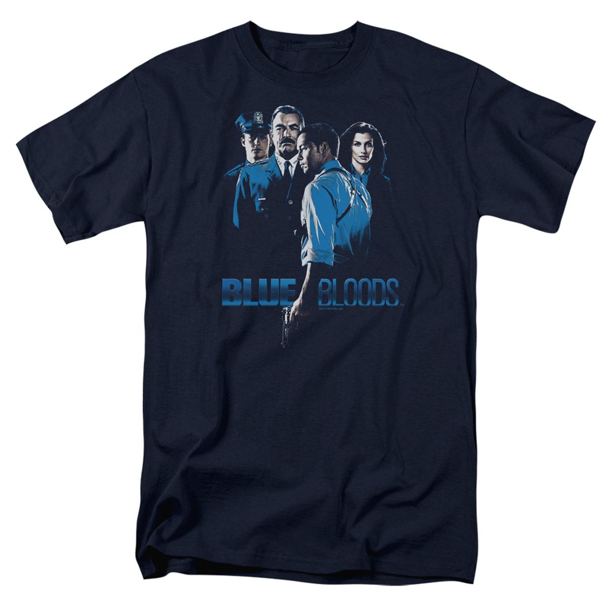 Blue Bloods Cast T-Shirt (Navy)