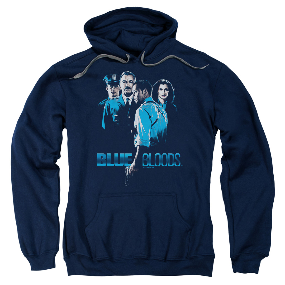 Blue Bloods Cast Pullover Hoodie