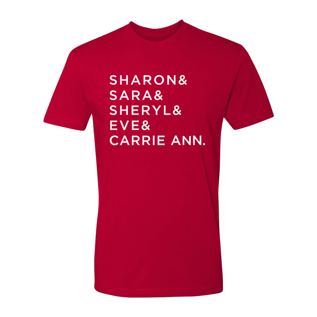 The Talk Name T-Shirt (Red)