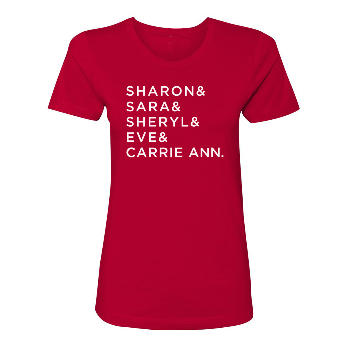 The Talk Name Women's T-Shirt (Red)