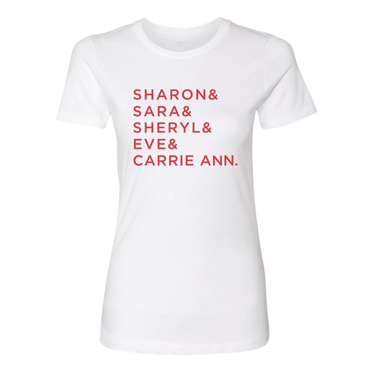 The Talk Name Women's T-Shirt (White)