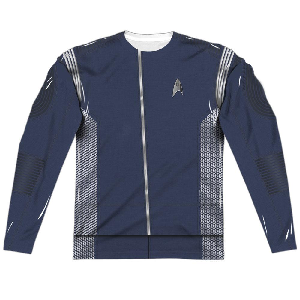Star Trek Discovery Science Uniform Costume Long Sleeve T-Shirt