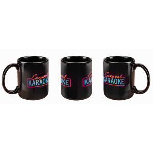 The Late Late Show with James Corden Carpool Karaoke Neon Logo Mug