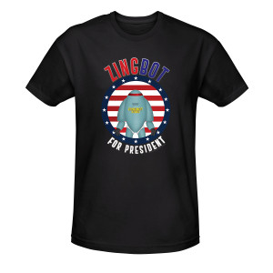 Big Brother Zingbot for President T-Shirt