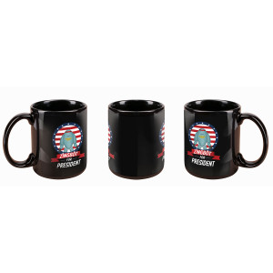 Big Brother Zingbot for President Banner Mug