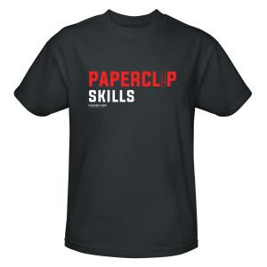 MacGyver Paperclip Skills T-Shirt