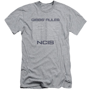 NCIS Gibbs Rules List T-Shirt