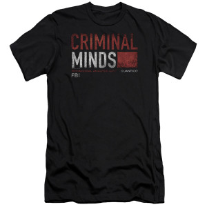 Criminal Minds Distressed Logo T-Shirt