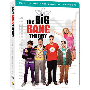 The Big Bang Theory: Season 2 DVD