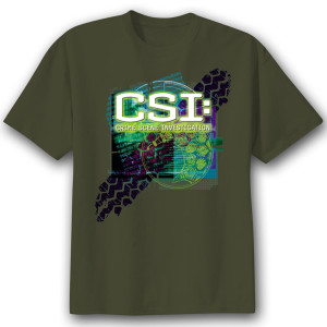 CSI Tire Track T-Shirt