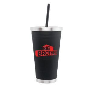 Big Brother Red Logo Matte Tumbler