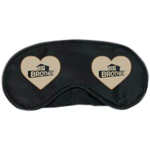 Big Brother Hearts Logo Eyemask