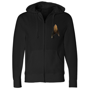 Star Trek Discovery Delta Shield Zip Up Hoodie