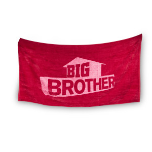 Big Brother Logo Towel [Red]