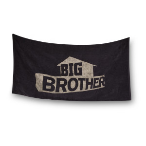Big Brother Logo Towel [Black]