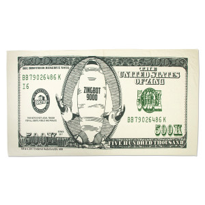 Big Brother Zingbot Money Towel