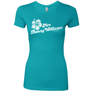 Hawaii Five-O Mrs Williams Women's Slim Fit T-Shirt